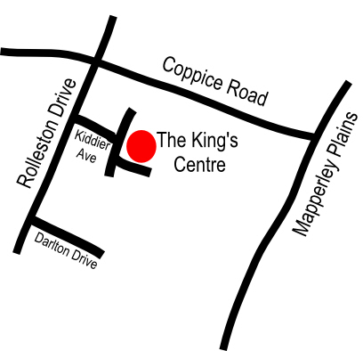 The King's Church Arnold - A basic map